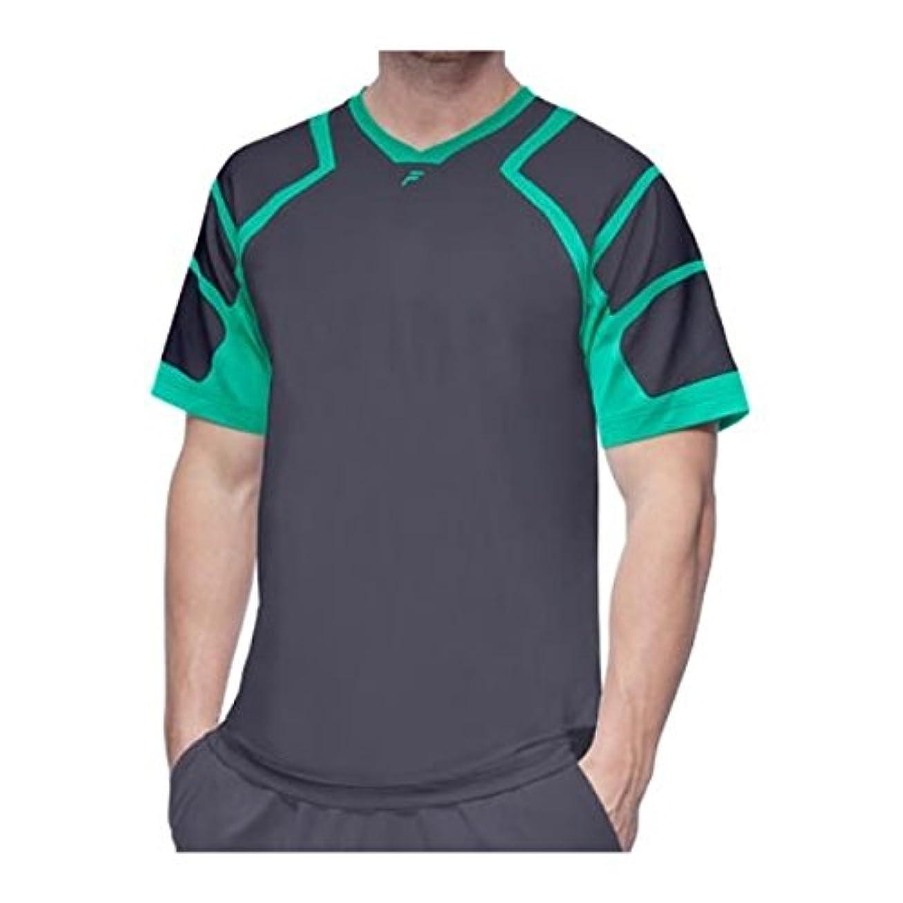 つらいエンジニア自我(フィラ) Fila メンズ トップス 半袖シャツ Platinum Mesh Shoulder Crew Shirt [並行輸入品]