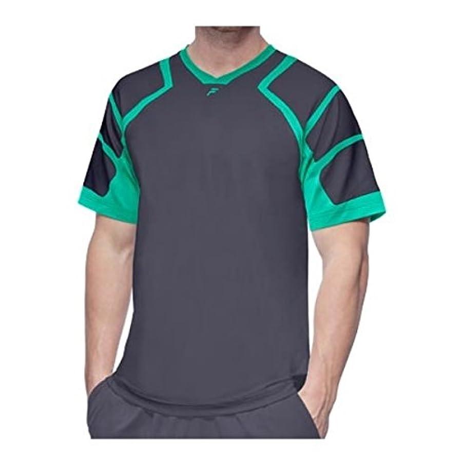 お誕生日突撃ステーキ(フィラ) Fila メンズ トップス 半袖シャツ Platinum Mesh Shoulder Crew Shirt [並行輸入品]