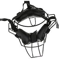 【ノーブランド 品】野球 ソフトボール 大人 キャッチャー 防具 フェイス ガード マスク