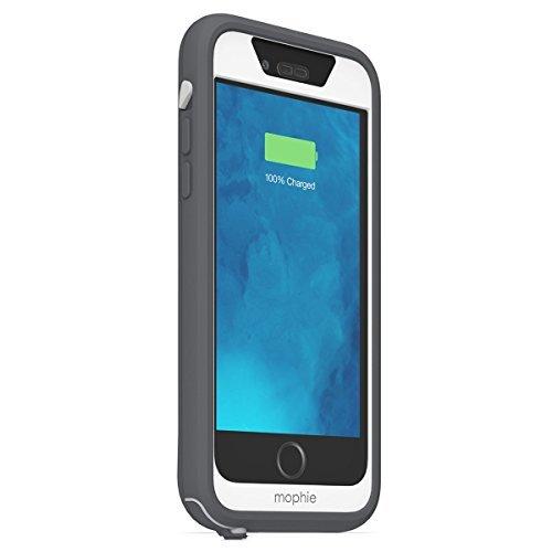 日本正規代理店品・保証付mophie juice pack H2PRO for iPhone 6s/6 防水バッテリーケース グレイ/ホワイト MOP-PH-000099