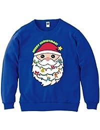 パルフィーユ/クリスマス キラキラ 瞳の サンタクロース トレーナー (長袖) 親子 大人 衣装