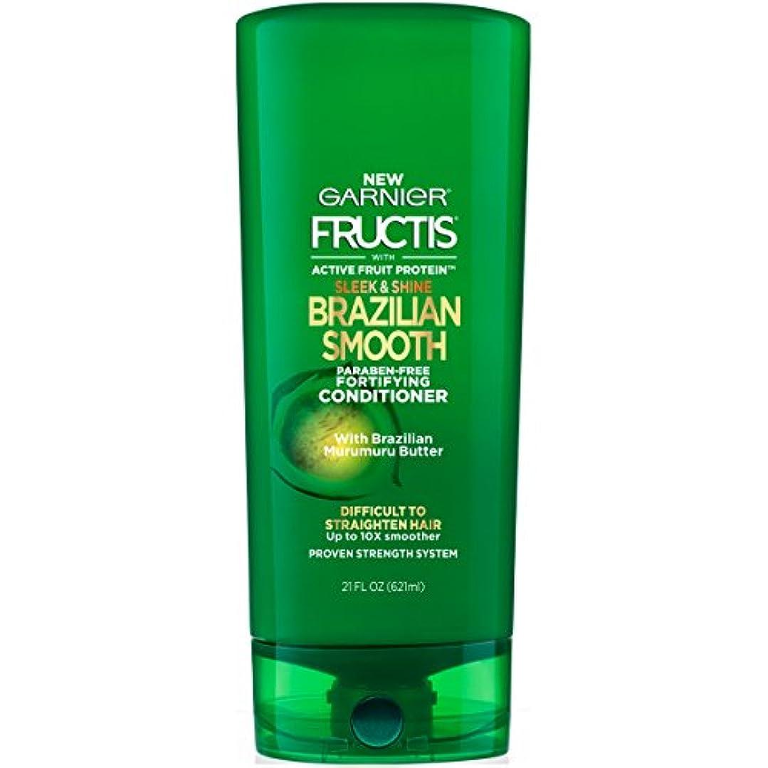 マネージャー振り向く窓Fructis Sleek & Shine Brazilian Smooth Conditioner