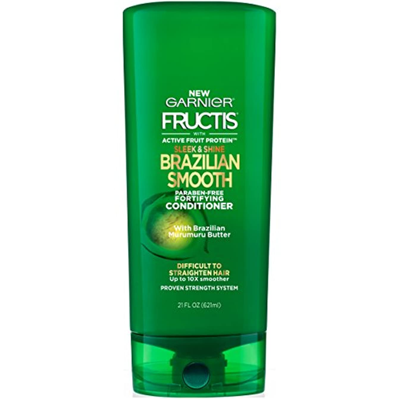 その後免除大量Fructis Sleek & Shine Brazilian Smooth Conditioner
