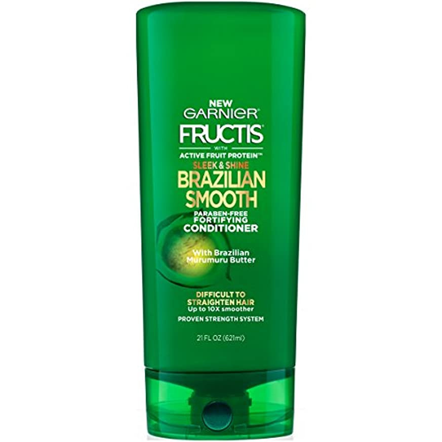 ブリーク小康電極Fructis Sleek & Shine Brazilian Smooth Conditioner