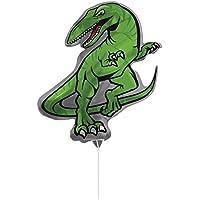 Creative Converting air-filled恐竜バルーンスティックとジョイナ付き、30インチ、グリーン
