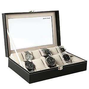 (ブルーロータス)BLUELOTUS 腕時計収納ケース ウォッチコレクションケース 12本収納用 BL-273