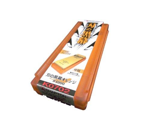 シャプトン 刃の黒幕 オレンジ 中砥 #1000
