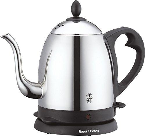 ラッセルホブス 電気ケトル ステンレス コーヒー ドリップ ポット 細口 0.8L 7408JP
