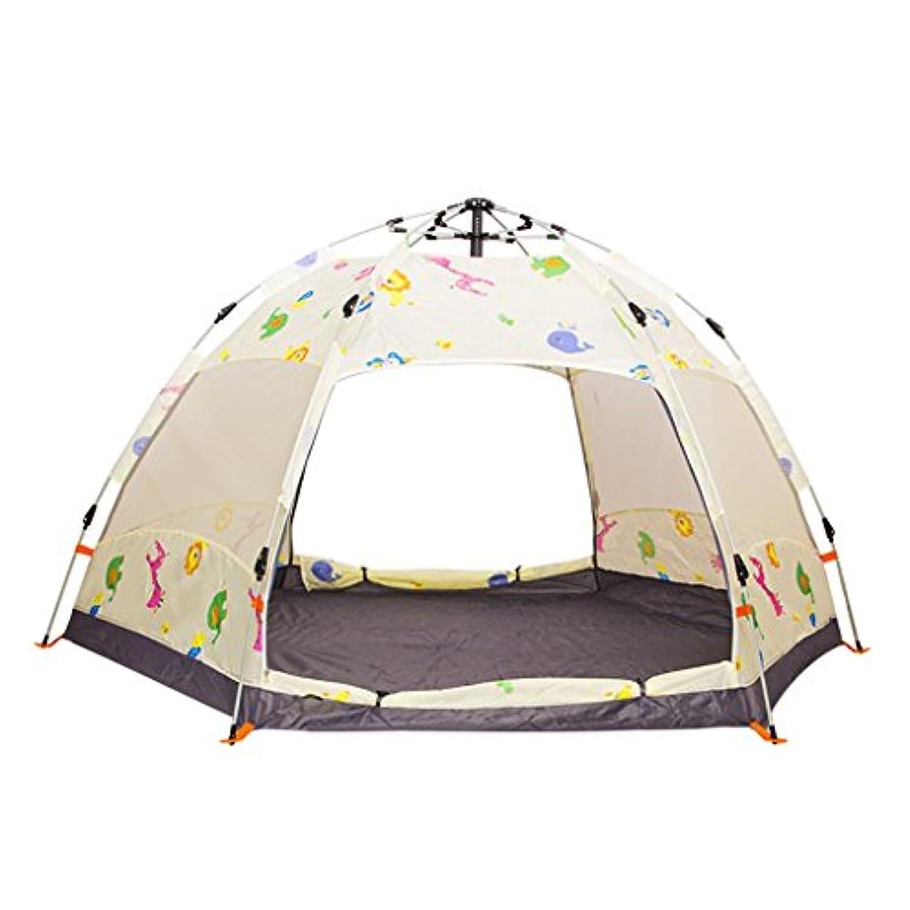 概要が欲しい活性化するYDYLZC- テント、自動ヘキサゴン厚い防雨フィールド屋外キャンプ 柔らかい