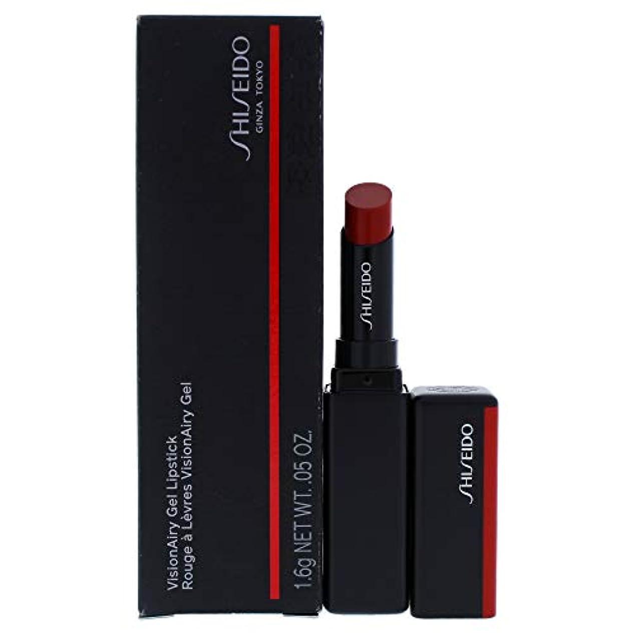 鉱夫休憩郵便番号資生堂 VisionAiry Gel Lipstick - # 221 Code Red (Ruby Red) 1.6g/0.05oz並行輸入品