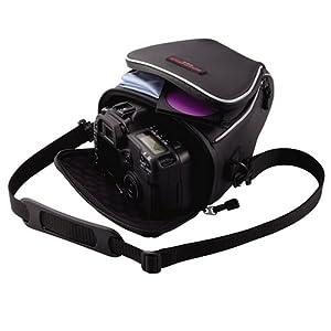 ELECOM デジタルカメラケース ブラック ZSB-SDG005BK