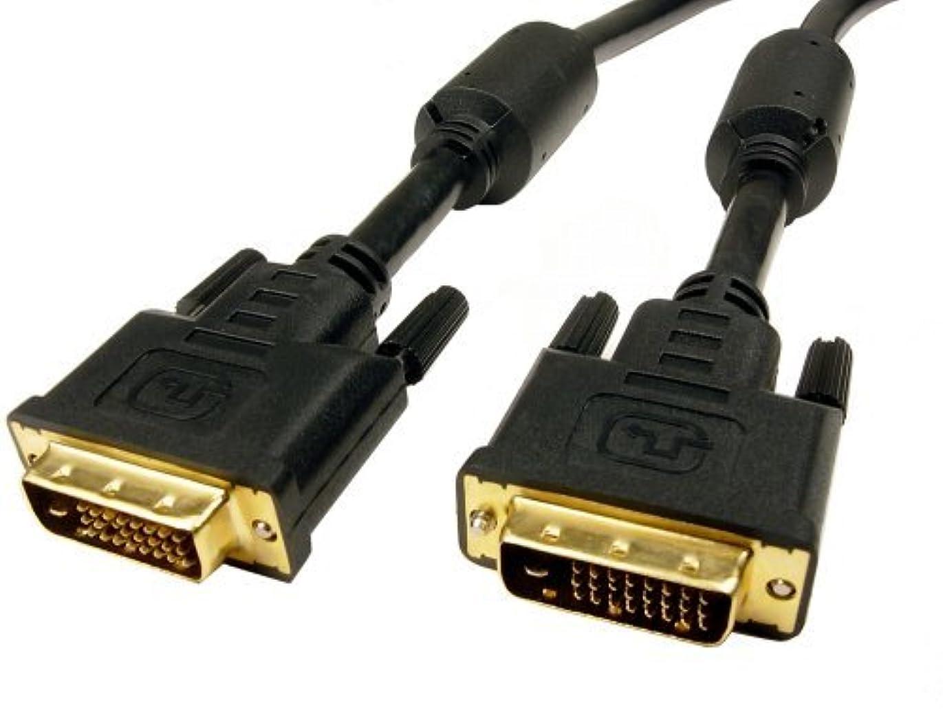 ロケットフライト巧みなCables Unlimited 6 feet DVI D M to M Dual Link Cable [並行輸入品]