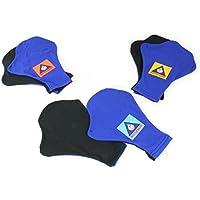 Water GearスキンフィットライクラForce Gloves – Medium withオレンジロゴ