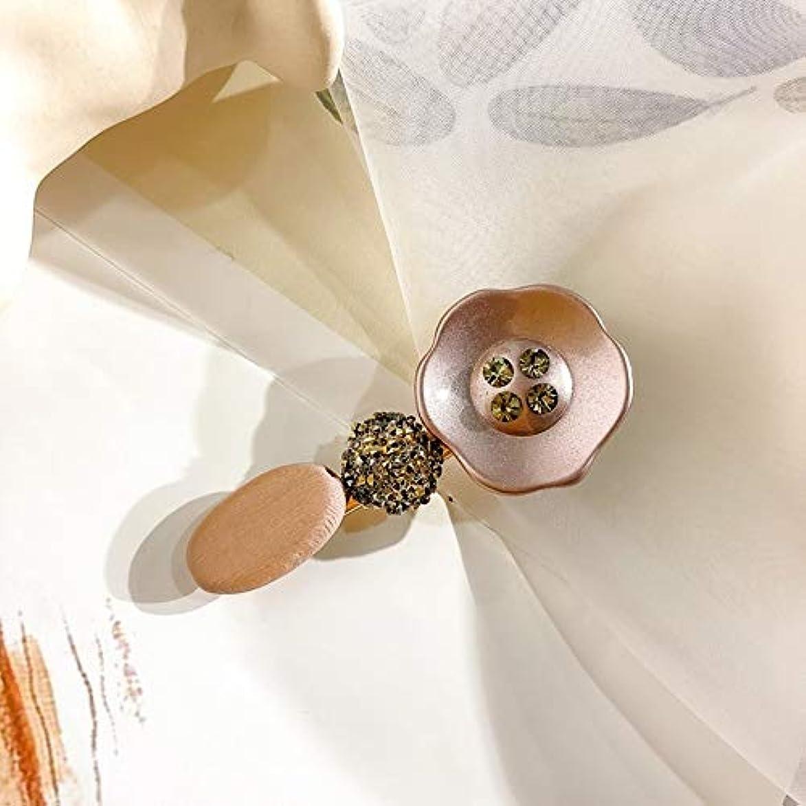 付き添い人内なる装置JEWERYYINT 2個ヘアーバレッタレトロフレンチラインストーン髪のピン留めエレガントなハンドメイドのヘアピンギフトのための誕生日パーティー結婚式デイリー (Color : D)