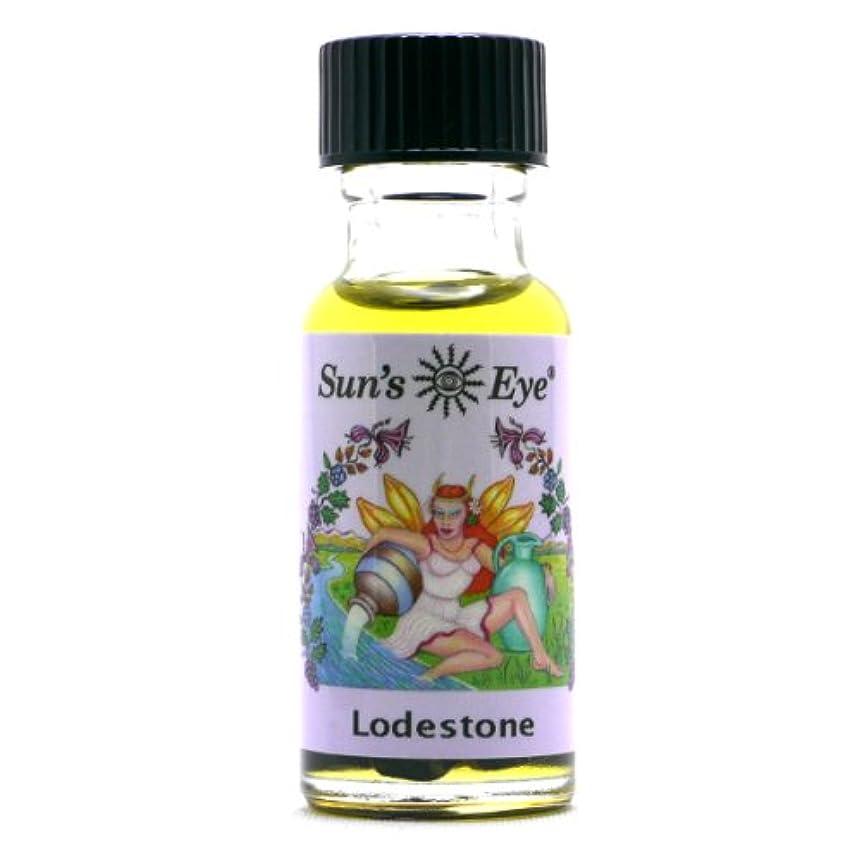 反論ヘロイン高度な【Sun'sEye サンズアイ】Mystic Blends(ミスティックブレンドオイル)Lodestone(ロードストーン 磁鉄鉱 欲しいものを引き寄せる)