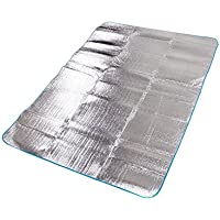 アウトドアアルミ箔防湿マットピクニックマットクロールマットキャンプテントマット200150 CM