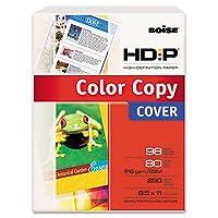 Boiseamp ; reg ; Enhancedカラーコピーカバー、80lb、ホワイト、98明るさ、文字、250シート