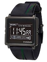 [エプソン スマートキャンバス]EPSON smart canvas エヴァンゲリオン Type:NERV 腕時計 W1-EV10110