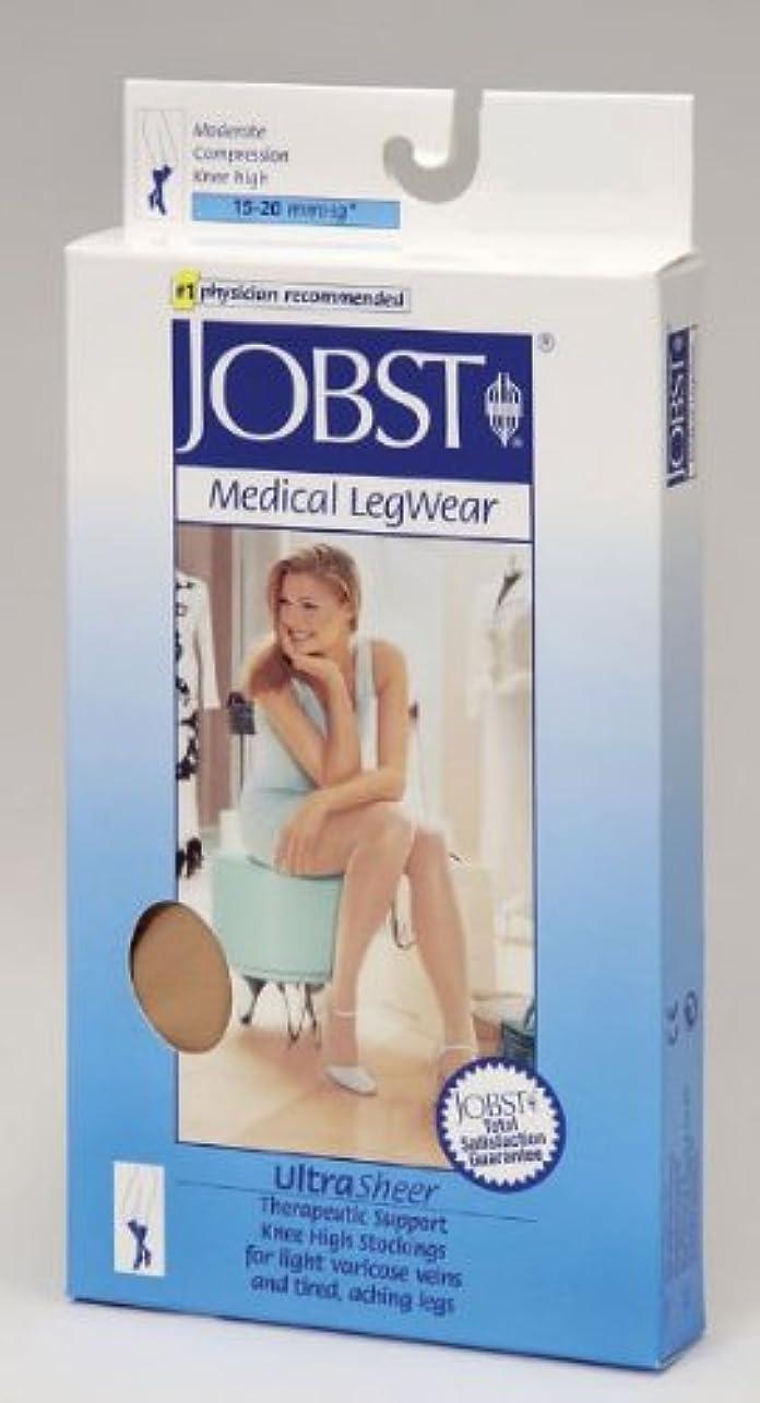 なんでもなだめる誇大妄想Jobst 119407 Ultrasheer Closed Toe Knee Highs 15-20 mmHg - Size & Color- Suntan Large by Jobst