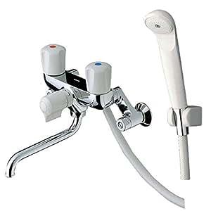 TOTO 浴室用水栓 2ハンドル混合栓 一時止水あり TMS20C