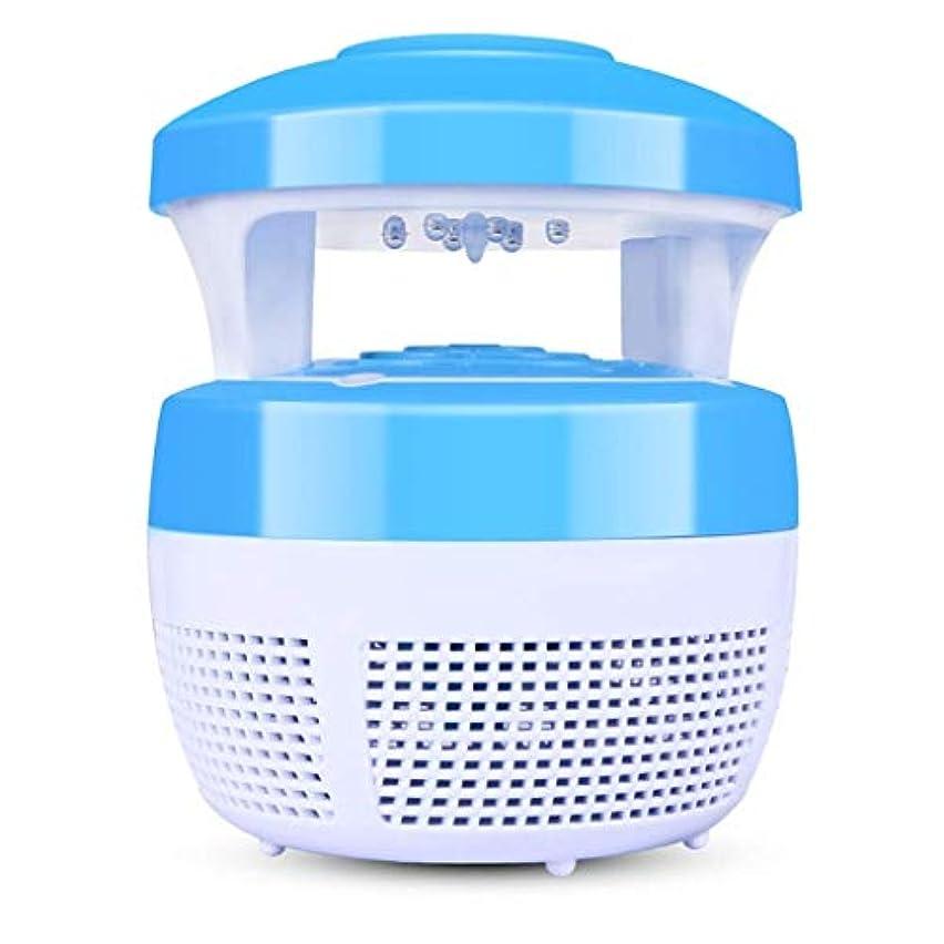 愚かな必要としている吸収LVESHOP 蚊のキラー、導かれた光触媒の蚊のキラー、純粋な物理的な蚊の忌避剤、無声蚊のキラー、寝室のベビールームのオフィスで使用することができます (色 : 青)