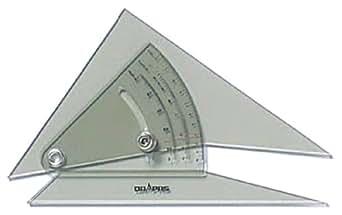 ドラパス 自在勾配定規 3mm厚 15cm 13906