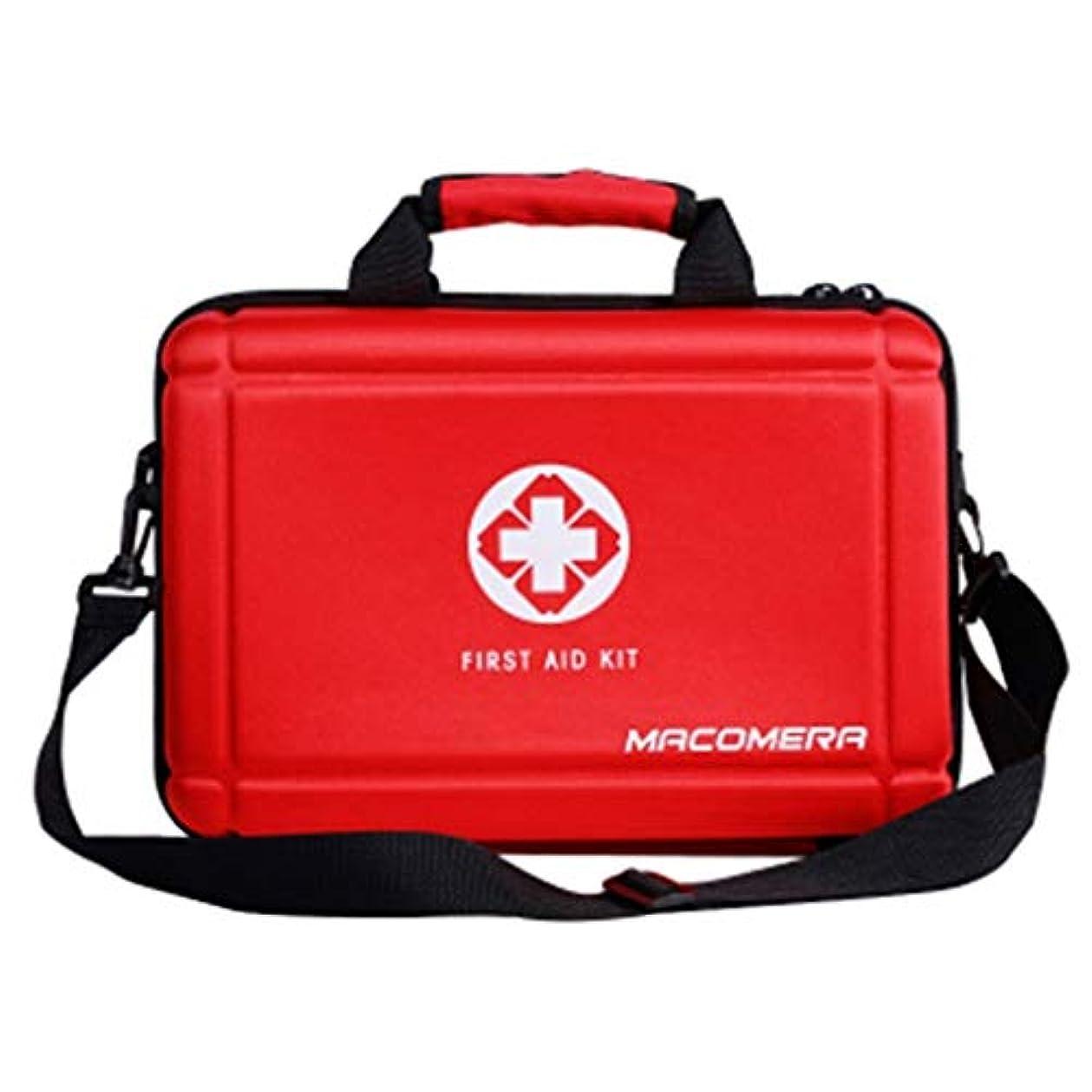 悪いうめき疾患緊急用バッグ 携帯用救急箱アウトドアサバイバルキット防水医療用バッグ/ 36 x 24 x 13.5 cm HMMSP