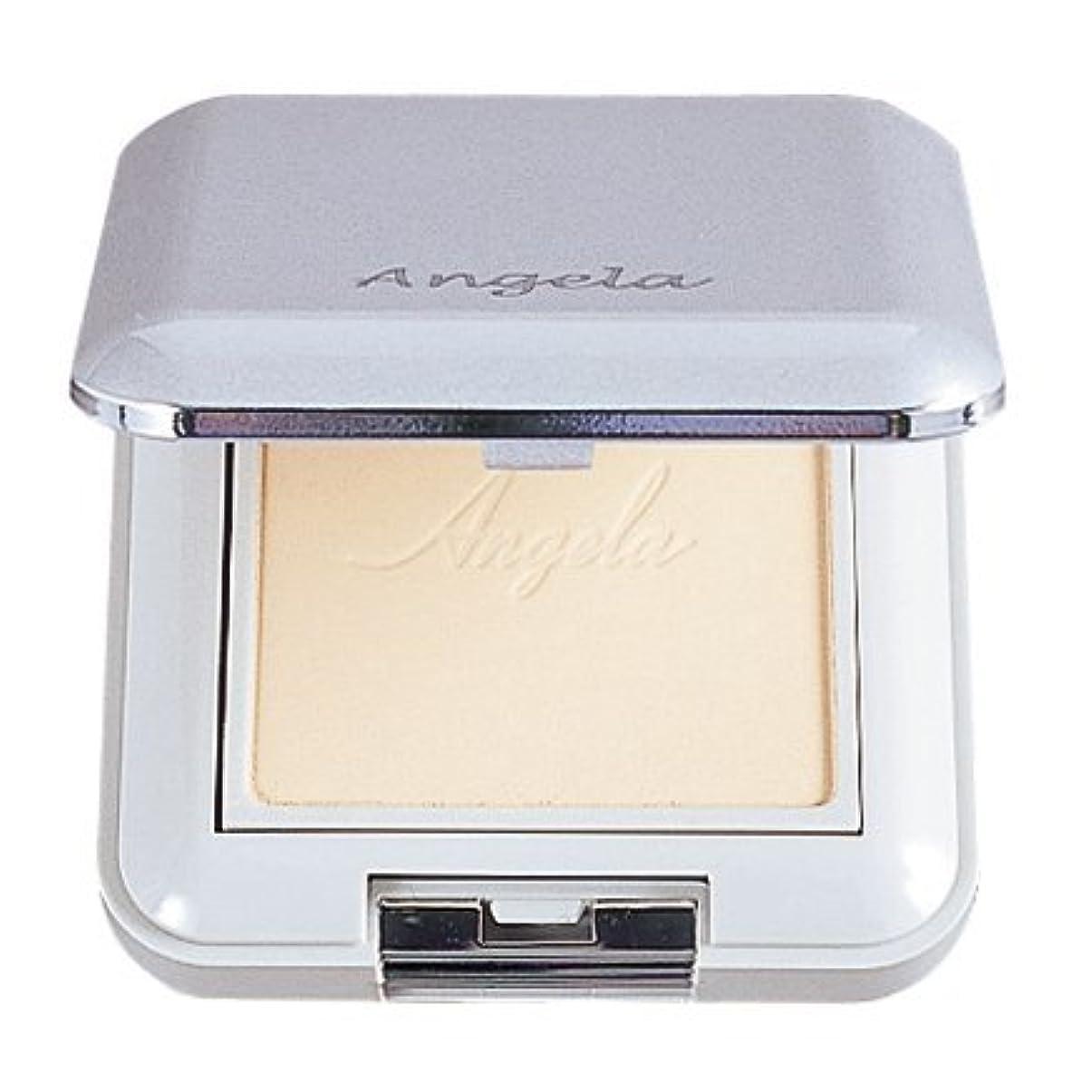 刻む頑張る化粧ホワイトリリー アンジェラ パウダリーパクト レフィル 固形おしろい SPF15