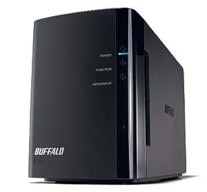 BUFFALO RAID1対応 NAS(ネットワークHDD) 【iPhone5対応(WebAccess i)】 2ドライブモデル 6TB LS-WX6.0TL/R1J
