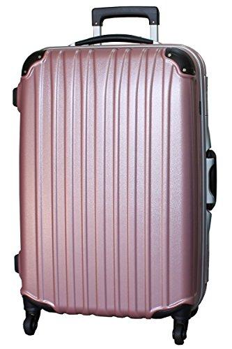 (ビータス) Beatas スーツケース TSAロック 軽量 アルミフレーム ビータス BH-F1000 Mサイズ エンボスピンク(中型 4日5日6日7日用) 【一年修理保証】【M/E-PK】SUITCASE