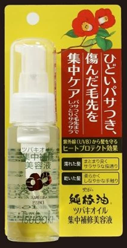 哲学者早い散らす黒ばら本舗 ツバキオイル 集中補修美容液 50mL (純椿油)×48点セット (4901508973918)