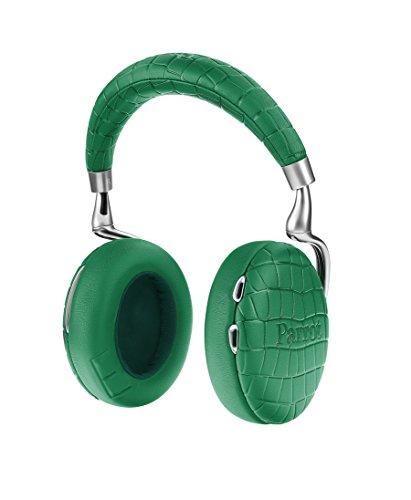 Parrot Zik 3 密閉型 ワイヤレスヘッドホン ノイズキャンセリング Bluetooth NFC Qiワイヤレス充電 Apple Watch対応 Emerald Green Crocodile PF562034 国内正規品