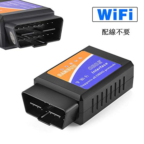 TONWON OBD2 Bluetooth OBDII Diagnoseger/ät ELM327 Adapter V2.1 Check Engine Scan Tool for Android//Window