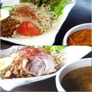トマトつけめん×3食+豚骨つけめん×3食 [つけめん詰め合わせセット] 具入りスープ・麺のおすすめセット 冷凍便