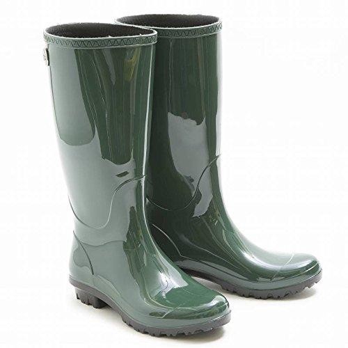 (アグ)UGG SHAYE シェイ レディース長靴 レインブーツ グリーン カーキ 1012350 US8/25cm [並行輸入品]