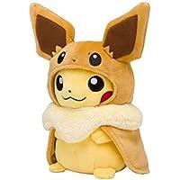 ポケモン(Pokemon) ポケモンセンターオリジナル ぬいぐるみ イーブイポンチョのピカチュウ
