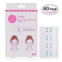 化粧アクセサリー40 Pcs/Set Invisible Thin Face facial Stickers Skin V-Shape Face