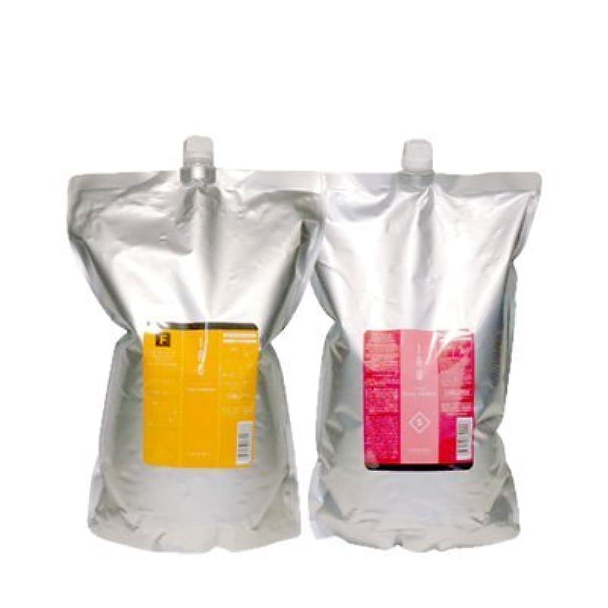 フィッティングミルクなんとなくルベル IAU イオ クレンジング フレッシュメント(シャンプー)2500ml&イオ クリーム シルキーリペア トリートメント2500ml 詰め替えセット