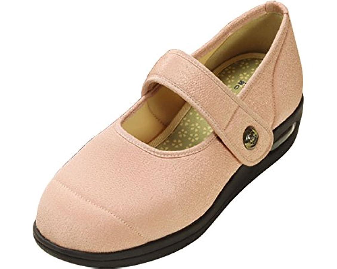 彩彩~ちりめん~ 両足 婦人用 24.5cm さくら W1101 (マリアンヌ製靴) (シューズ)(返品不可)