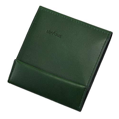 薄い財布 abrAsus アブラサス 最上級ブッテーロレザーエディション (グリーン)
