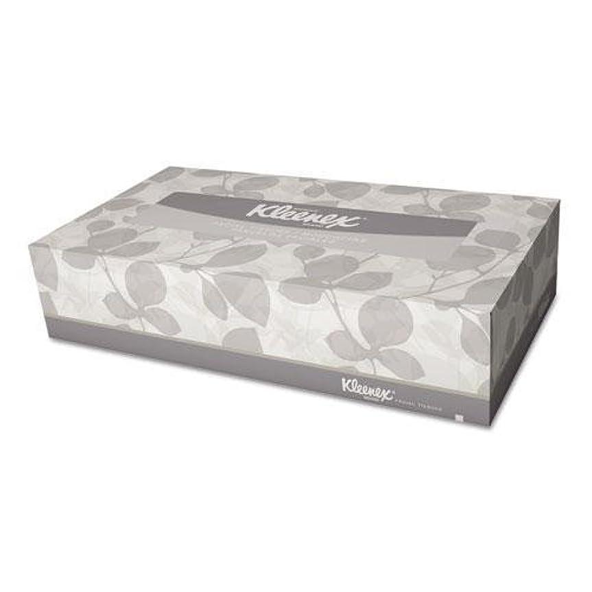 アベニューじゃない強度キンバリークラーク21400bx KleenexホワイトFacial Tissue、2層、ポップアップボックス、100 /ボックス