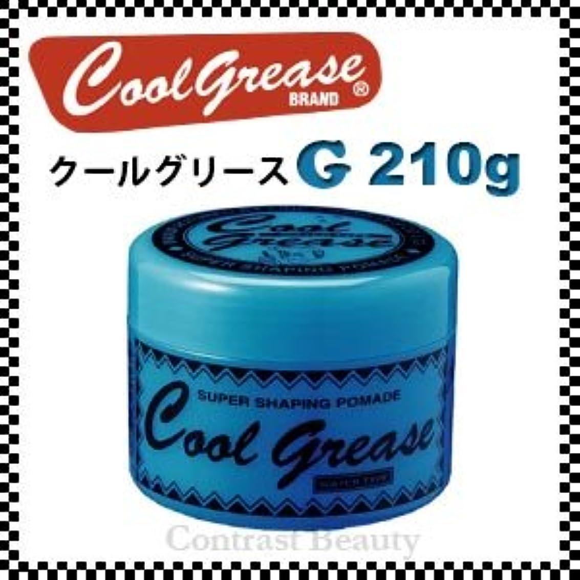 ものぼんやりした粘り強い【X4個セット】 阪本高生堂 クールグリース G 210g