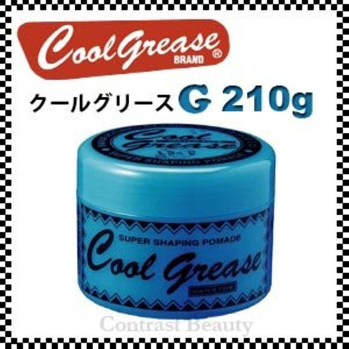 差し引くメッセージ曇った【X4個セット】 阪本高生堂 クールグリース G 210g