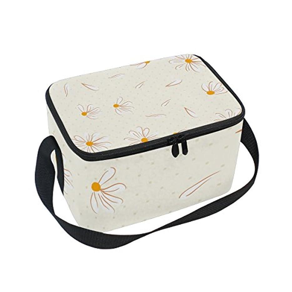 若い骨髄かもめクーラーバッグ クーラーボックス ソフトクーラ 冷蔵ボックス キャンプ用品 白い菊柄 あっさり 保冷保温 大容量 肩掛け お花見 アウトドア