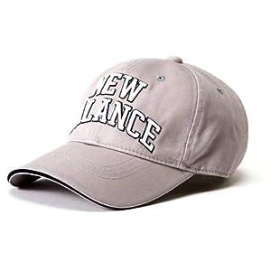 [ニューバランス ゴルフ] [ユニセックス] ロングブリム ツイルキャップ (サイズアジャスター機能 57cm) ゴルフ 帽子 012-8287008 020_グレー FR
