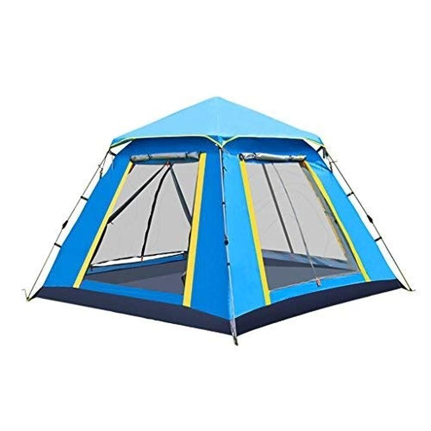 オートメーション時計試すテント、キャンプテント、自動日焼け止めビーチ家族キャンプアウトドアテント