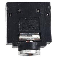 Cikuso 10個5ピン基板実装メス3.5mmステレオジャックソケットコネクタ