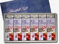 GSアイスリキッドコーヒー無糖・ 6本ギフトセットお中元 /お歳暮等にお勧めのアイスコーヒーギフト
