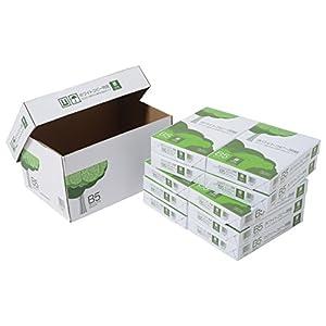 コピー用紙 B5 ホワイトコピー用紙 高白色 紙厚0.09mm 5000枚(500×10) AIK914