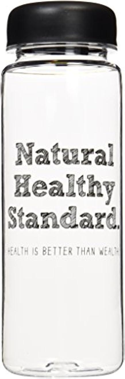 リボン仕事に行く衣類Natural Healthy Standard ロゴ入り ドリンクボトル 500ml